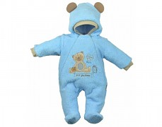 Kombinéza modrá Sweet Bear