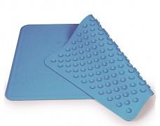 Protiskluzová podložka do vany modrá 34x55cm