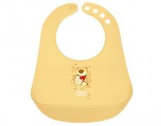 Bryndák s kapsou žlutý Happy Animals