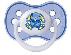 Kojenecké šidítko modré Milky silikonové
