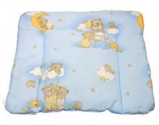 Přebalovací podložka modrá se spícími medvídky