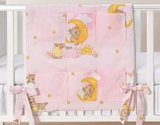 Kapsář růžový se spícími medvídky
