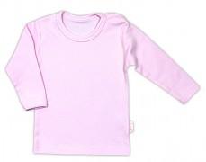 Kojenecká košilka růžová