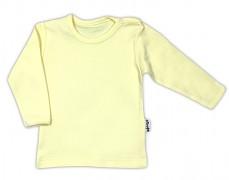 Kojenecká košilka žlutá