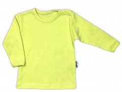 Kojenecká košilka zelená