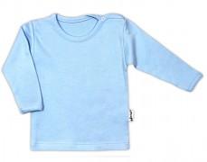 Kojenecká košilka modrá