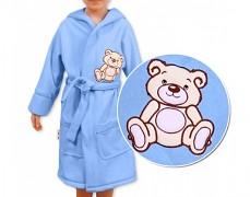 Dětský župan modrý Teddy Bear
