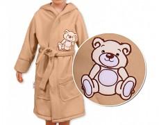 Dětský župan hnědý Teddy Bear