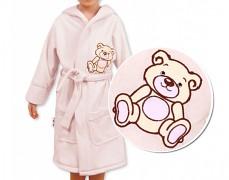 Dětský župan krémový Teddy Bear