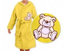 Dětský župan žlutý Teddy Bear