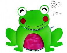 Síťka na hračky s přísavkou, žabka