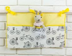 Kapsář žlutý bicykly