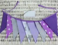 Girlanda fialová hvězda