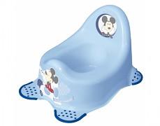 Dětský nočník modrý Mickey Mouse
