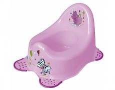 Dětský nočník fialový Hippo
