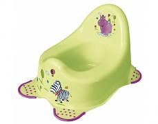 Dětský nočník zelený Hippo
