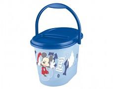 Kyblík na plenky modrý Mickey Mouse