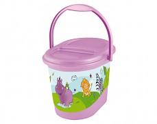 Kyblík na plenky fialový Hippo