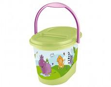 Kyblík na plenky zelený Hippo