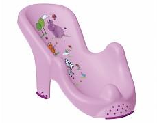 Lehátko ke koupání fialové Hippo