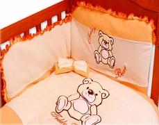 Dětské povlečení oranžová Teddy Bear