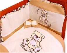 Dětské povlečení hnědá Teddy Bear