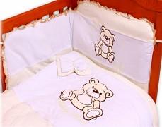 Dětské povlečení krémová Teddy Bear
