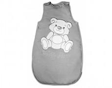 Dětský spací pytel šedý Teddy Bear