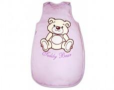 Dětský spací pytel fialový Teddy Bear