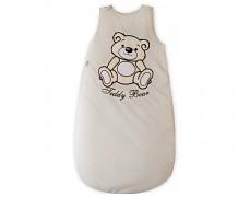 Dětský spací pytel krémový Teddy Bear