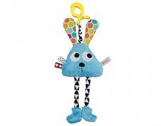Plyšová hračka s klipem modrá