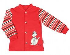 Kabátek červený dino vel.56