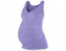Těhotenské sv.fialové tílko