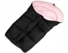Fusak černo-růžový světlý