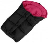 Fusak černo-růžový tmavý