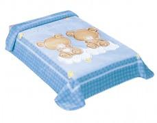 Dětská deka medvídci na obláčku