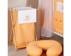 Koš na prádlo oranžová obláček