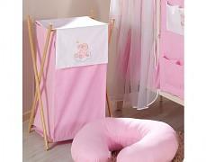 Koš na prádlo růžový obláček