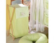 Koš na prádlo zelený Snílek