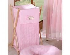 Koš na prádlo růžový Snílek