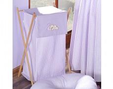 Koš na prádlo fialový Snílek