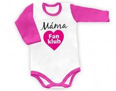 Body růžové Máma fan klub