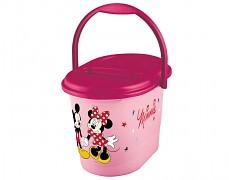 Kyblík na plenky růžový Minnie