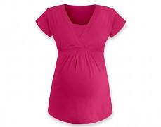 Těhotenská tunika Anička růžová tmavá