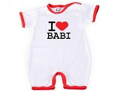 Body s nohavičkou I ♥ BABI