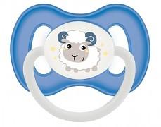 Dudlík modrý Bunny & Company kaučukový