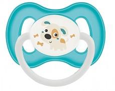 Dudlík tyrkysový Bunny & Company kaučukový