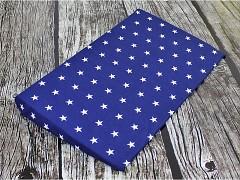 Polohovací klín do postýlky modrá tmavá hvězdičky