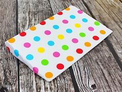 Polohovací klín do postýlky barevné puntíky