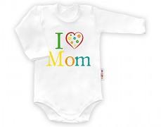 Body bílé  I ♥ Mom dl.rukáv